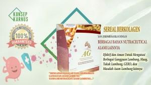 AG Sereal sebagai Nutraceutical Yang Efektif dan Aman Untuk Mengatasi Berbagai Gangguan Lambung, Maag, Tukak Lambung, GERD, dan Masalah Asam Lambung lainnya.