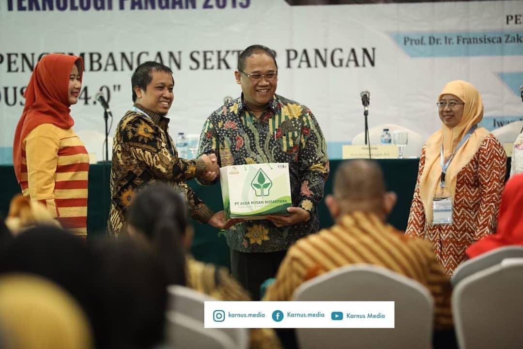 Iwan Benny Purwowidodo, STP menjadi salah satu Pembicara dalam Seminar Nasional Teknologi Pangan 201