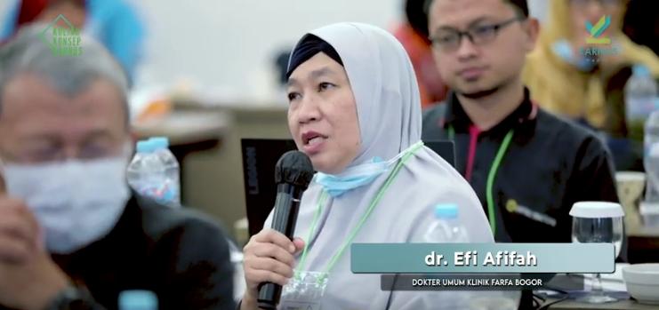 Testimoni dr Efi Afifah, Yang merasa bersyukur karena suaminya sembuh dari penyakit psoriosis dan GERD